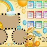 Calendarios Infantiles Año 2015