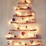 Arboles de Navidad para espacios redudidos muy originales
