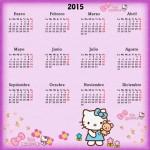 Hermosos Calendarios 2015 para guardar