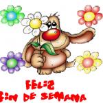 """43 Dibujos tiernos de """"Felíz fin de semana"""" con Frases lindas para Whatsapp"""