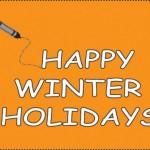 Imágenes de Happy Winter Holidays con frases para compartir en Whatsapp con movimiento