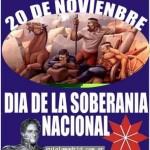 Imágenes del Día de la Soberanía Nacional Argentina