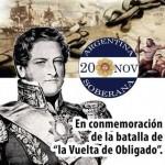 20 de noviembre – Felíz Día de la Soberanía Argentina