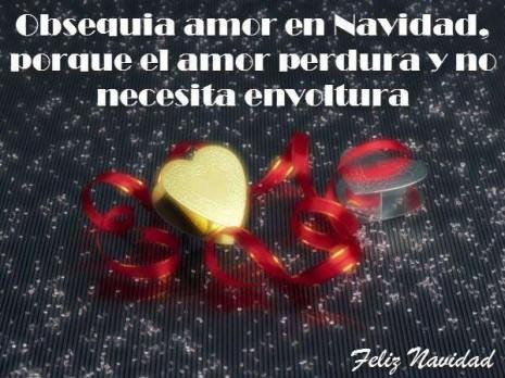 Postales con corazones y mensajes navide os informaci n - Imagenes de corazones navidenos ...