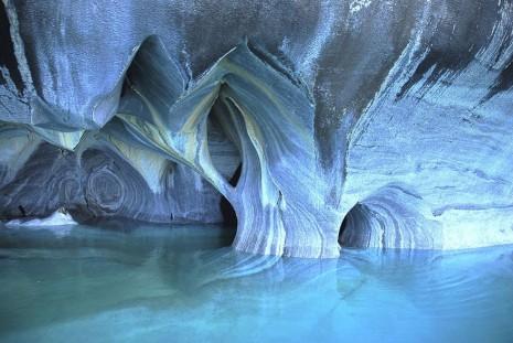Cueva de Mármol, Chile.