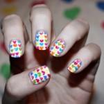 Decoración de uñas para el Día de San Valentín
