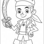 Imágenes de Jake y los Piratas del Nunca Jamás para colorear