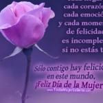 Imágenes para Compartir – Felíz Día de la Mujer – 8 de Marzo