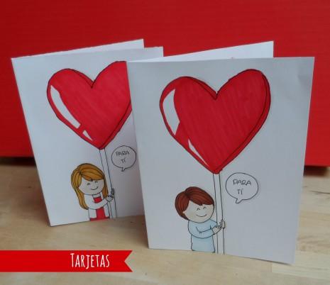 Im genes de fel z d a de san valent n con frases para el - Postales dia de san valentin ...