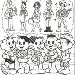 Imágenes del Día del Trabajador con dibujos para descargar y colorear