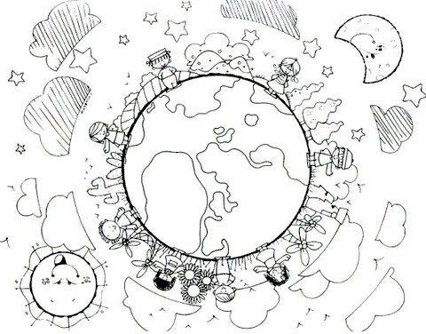 Resultado de imagen de dia mundial de los derechos del niño fichas colorear