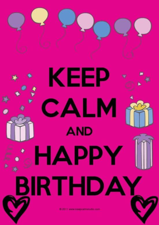 Keep Calm frases de Amor y cumpleaños (3)