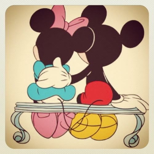 Mickey Mouse y Minnie dibujos (6)
