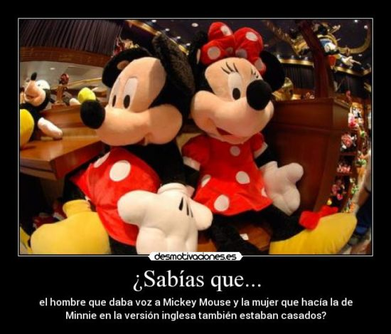 Mickey y Minnie con Frases  (10)