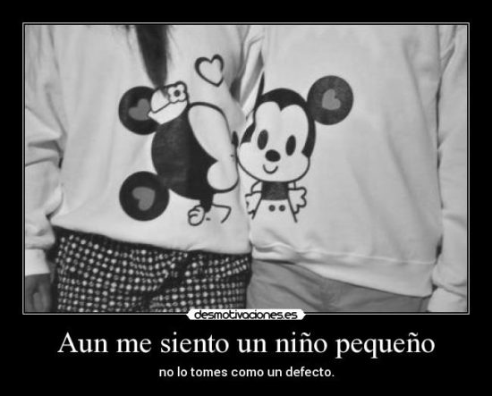 Mickey y Minnie con Frases  (11)