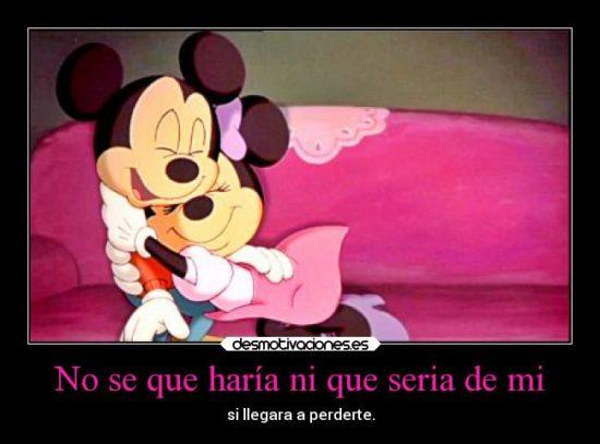 Mickey y Minnie con Frases  (12)