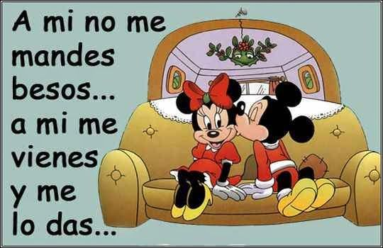 Mickey y Minnie con Frases  (13)