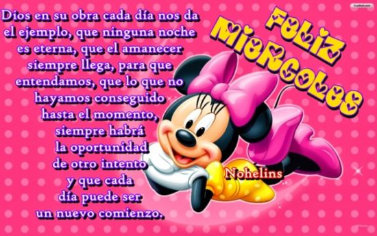 Mickey y Minnie con Frases (2)