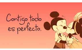 Mickey y Minnie con Frases  (3)