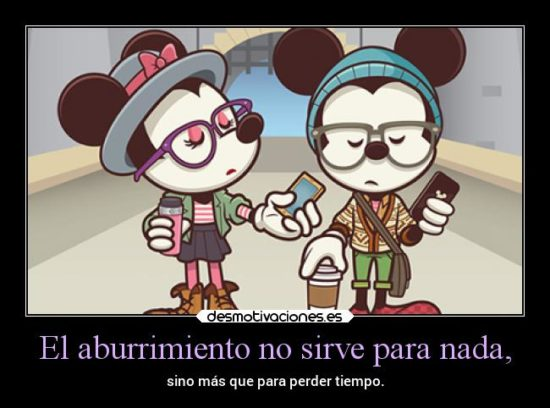 Mickey y Minnie con Frases  (7)