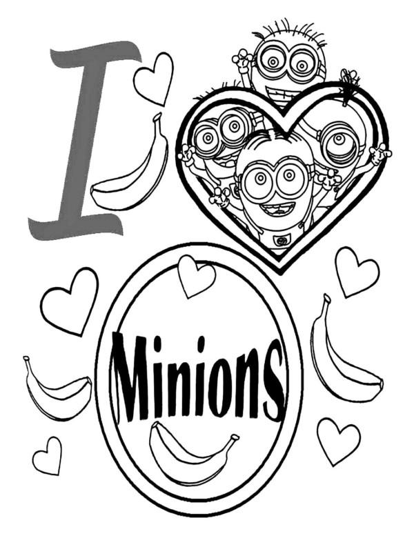 Minions | Para Colorear Gratis