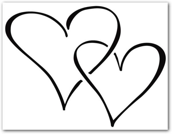 Corazones tiernos de Amor para colorear e imprimir ...