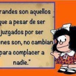 66 Imágenes de Mafalda con frases de Amor, felicidad, libertad y Educación para Reflexionar