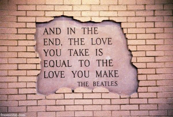Imágenes De Los Beatles Con Grandes Frases De Canciones