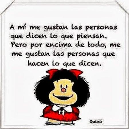 66 Imágenes de Mafalda con frases de Amor, felicidad, libertad y ...