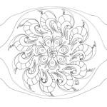50 Imágenes de Mandalas para colorear e imprimir con dibujos faciles de pintar