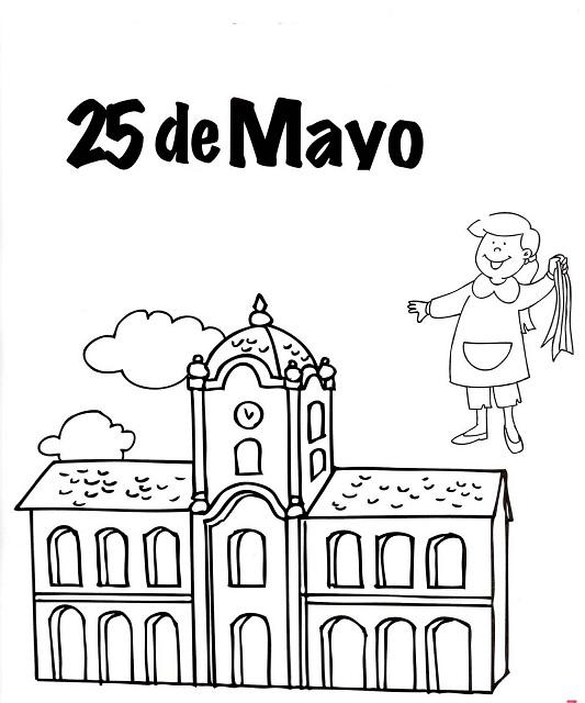 25 de mayo dibujos para niños  colorear (26)