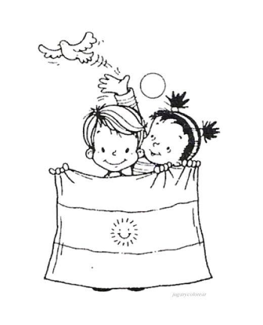 25 de mayo dibujos para niños  colorear (6)