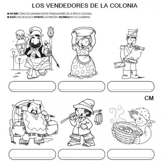 25 de mayo dibujos para niños  colorear (7)