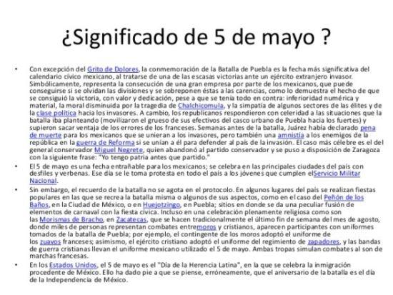 5 de Mayo información  (1)