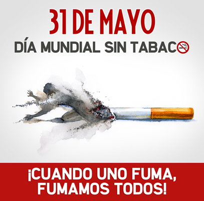 Dejar de fumar d a mundial sin tabaco informaci n e for Cuarto dia sin fumar