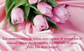 Frases con Flores de Felíz Día de la Mujer (7)