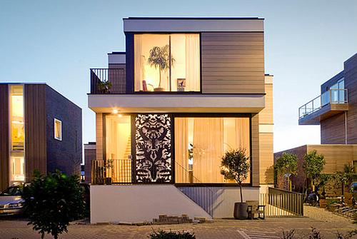 Hermosas fachadas de casas modernas y simples (15)