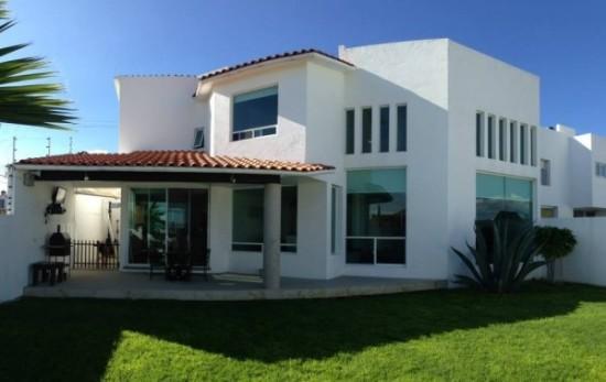 Hermosas fachadas de casas modernas y simples (17)
