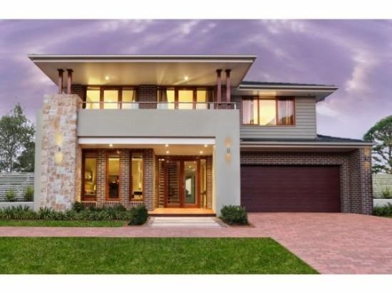Hermosas fachadas de casas modernas y simples (24)