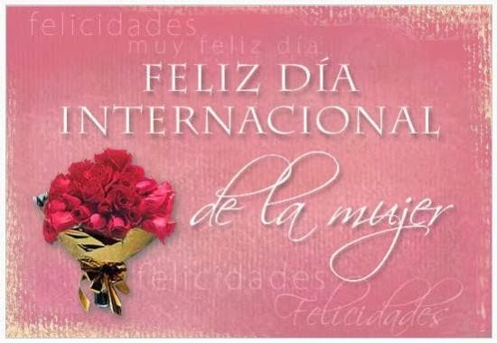 Imágenes con Flores Felíz Día de la Mujer para enviar (4)