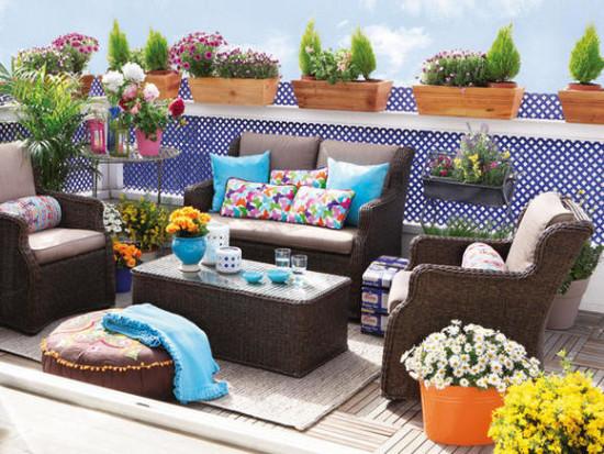 Imágenes con ideas para decorar espacios exteriores  (2)