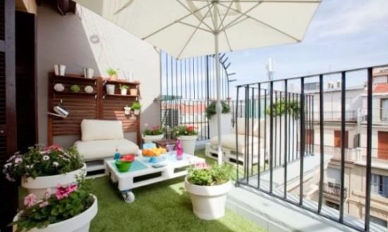 Imágenes con ideas para decorar espacios exteriores  (3)