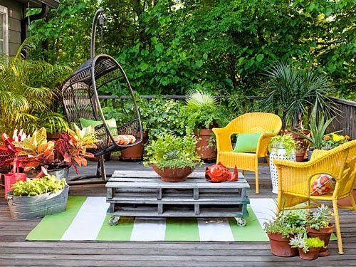 Imágenes con ideas para decorar espacios exteriores  (9)