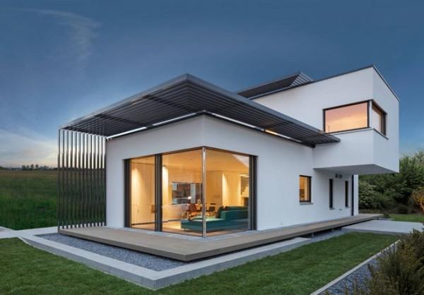 15 im genes de fachadas de casas modernas minimalistas On constructora casas modernas