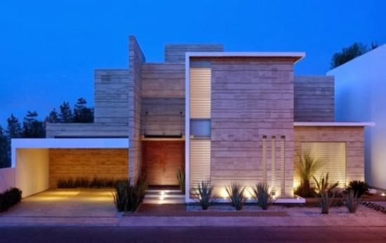 fachadas de Casas modernas imágenes (16)
