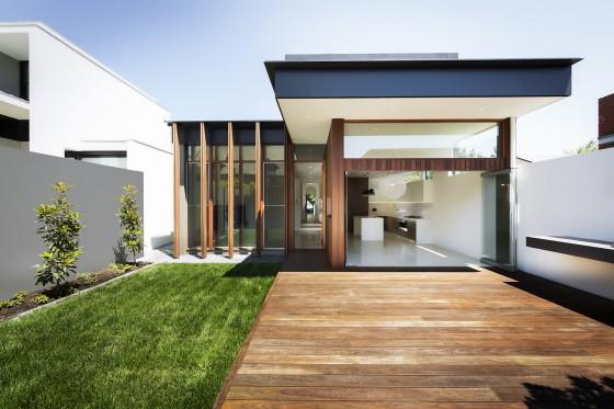 15 im genes de fachadas de casas modernas minimalistas for Casa moderna ma calda
