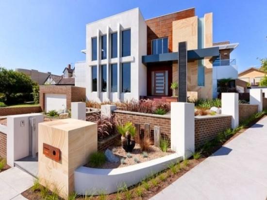 fachadas de Casas modernas imágenes (4)