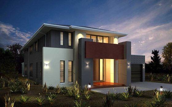 15 im genes de fachadas de casas modernas minimalistas for Piedras para fachadas minimalistas