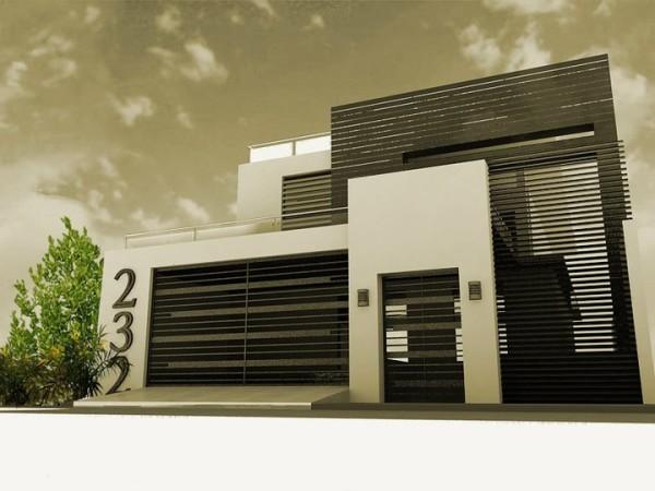 fachadas de Casas modernas imágenes  (7)