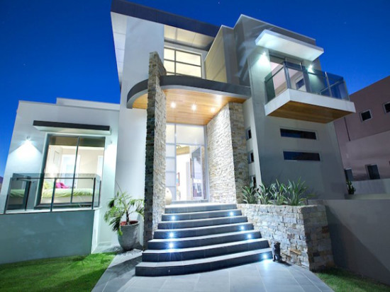 fachadas de Casas modernas imágenes (9)